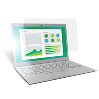 """3M Filtre anti-reflets pour ordinateur portable à écran large 15,6"""" Filtre écran - Transparent"""