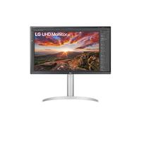LG 27'' UHD 4K IPS with VESA DisplayHDR 400 Monitor - Zilver