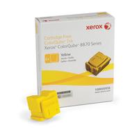 Xerox Encre solid Jaune ColorQube 8870 / 8880 - 108R00956 Bâton d'encre