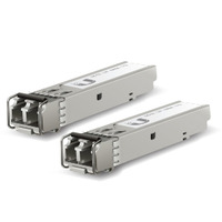 Ubiquiti Networks 10 Gbps, SFP+, 300 m, 850 nm, LC, MM, 2 Pcs Netwerk transceiver modules - Aluminium