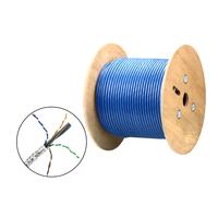 Aten 305M HDBaseT SF/UTP CAT 6 Kabel Netwerkkabel - Blauw