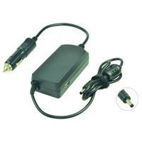 2-Power DC Car Adapter 19.5V 2.31A 45W inc. mains cable Adaptateur de puissance & onduleur - Noir
