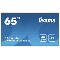 Iiyama LH6542UHS-B3 Écrans professionnels - Noir