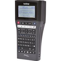 Brother TZe, 30 mm/sec, 180 dpi, , LCD, USB 2.0 - QWERTY Imprimante d'étiquette - Noir