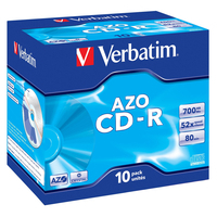 Verbatim CD-R AZO Crystal CD