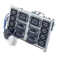 APC Symmetra Backplate Unités d'alimentation d'énergie - Noir