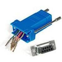 C2G RJ45/DB9F Modular Adapter Kabel adapter - Blauwgroen