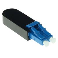 ACT Fiber optic LC loopback adapter Adaptateur de câble - Noir