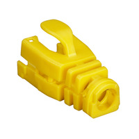 Black Box Snap-On Snagless Cable Boot - Yellow, 50-Pack Kabelbeschermer - Geel