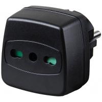 Brennenstuhl Travel Adapter Adaptateur de puissance & onduleur - Noir