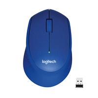 Logitech M330 Silent Plus Souris - Bleu