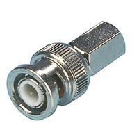 Valueline BNC Male, Metal, Silver Connecteur de câble - Argent