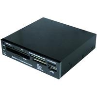 Ewent 3.5 inch Internal Card reader for your PC with USB port Kaartlezer - Zwart