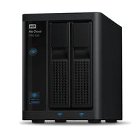 Western Digital My Cloud Pro PR2100 NAS - Zwart