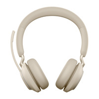 Jabra Evolve2 65, UC Stereo Headset - Beige