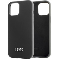 Audi Q3 Silicone Backcover iPhone 12 Pro Max - Zwart - Zwart / Black Housse de protection téléphones portables