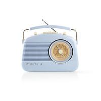 Nedis FM, 4.5 W, Carrying Handle, | Blue Radio - Bleu