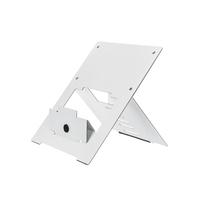 R-Go Tools R-Go Riser Flexible Laptopstandaard, verstelbaar, wit Laptop steun