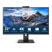 Philips P Line LCD-met USB-C-dock Monitor - Zwart