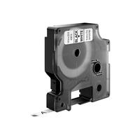 DYMO D1 -Standard Labels - Black on White - 6mm x 7m Labelprinter tape
