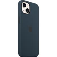 Apple Coque en silicone avec MagSafe pour iPhone 13 - Bleu abysse