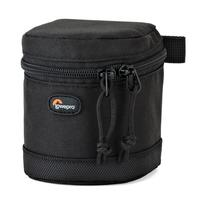 Lowepro Lens case that fits a small zoom lens for Micro Four Thirds and mirrorless cameras - Zwart