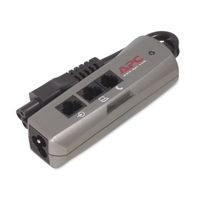 APC SurgeArrest Notebook, 230V, 50/60 Hz, 575.0Watts, 4A, Silver Spanningsbeschermer - Zilver
