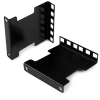 StarTech.com Kit adaptateur de profondeur de rail pour rack de serveur 2U Accessoire de racks - Noir