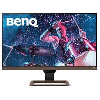Benq EW2780U Monitor - Zwart,Bruin