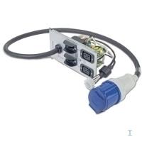APC Symmetra LX rackmount backplate (2*C19 1*IEC 309) Unités d'alimentation d'énergie