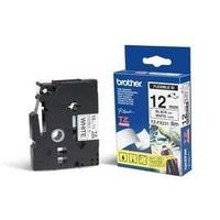 Brother TZEFX231 Labelprinter tape - Wit