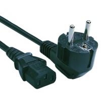 Cisco AC Power Cord (Europe), 250VAC, 10A, 2.5m, Spare Electriciteitssnoer - Zwart