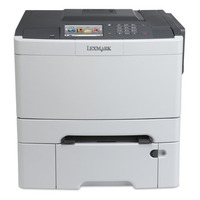 Lexmark CS510dte Laserprinter - Zwart,Cyaan,Magenta,Geel