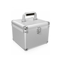 ICY BOX Transport suitcase for 10 x 3.5 IN HDDs - Argent