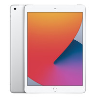 "Apple iPad (2020) WiFi + Cellular 128GB 10,2"" Zilver Tablet"