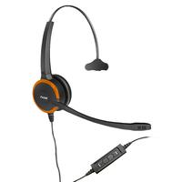 Axtel Prime MS HD Mono NC USB Casque - Noir,Orange
