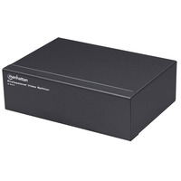 Manhattan 4ports, VGA, SVGA, synchronisation multiple Répartiteur vidéo - Noir