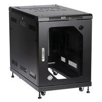 Black Box Select Server Cabinet with Tempered Glass Door, 15U étagères - Noir