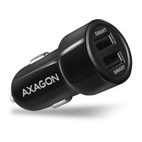 Axagon PWC-5V5 2.4A + 2.4A car charger Chargeur - Noir