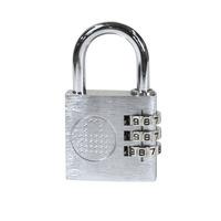 Lockncharge Resettable Keyless Padlock Mini Hangslot - Grijs