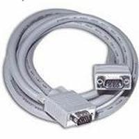 C2G 2m Monitor HD15 M/M cable - Gris