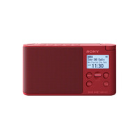 Sony XDR-S41D Radio - Rouge
