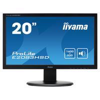 """Iiyama ProLite 19.5"""" LED écran Moniteur TFT - Noir"""