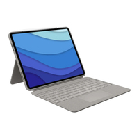 Logitech Combo Touch for iPad Pro 12.9-inch (5th generation) - QWERTY - Sable