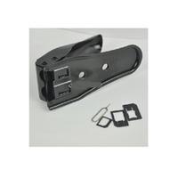 MicroMobile Dual SIM Cutter For iPhone 5/4S/4 SIM / flash adaptateurs de carte mémoire - Noir
