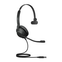 Jabra Evolve2 30, USB-A UC Mono Headset - Zwart