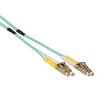 ACT 20mmultimode 50/125 OM3 duplex ruggedized fiber kabelmet LC connectoren Fiber optic kabel - Blauw,Grijs,Wit,Geel