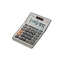 Casio BIG LC-10 digit display, 1x LR54, 115g Calculator - Zilver