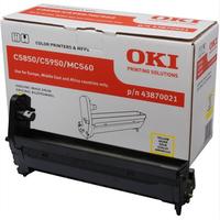 OKI Yellow image drum for C5850/5950 Printerdrum - Geel