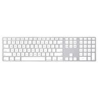 Apple Keyboard with Numeric Keypad - Greek Clavier - Aluminium